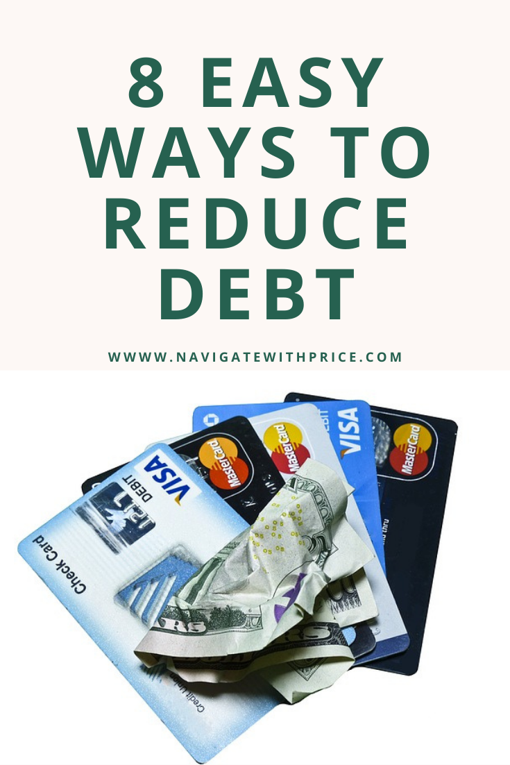 8 Easy Ways to Reduce Debt
